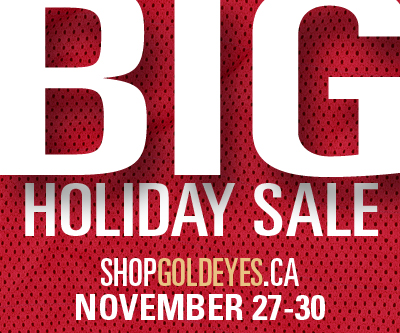 Big Holiday Sale - ShopGoldeyes.ca - November 27-30