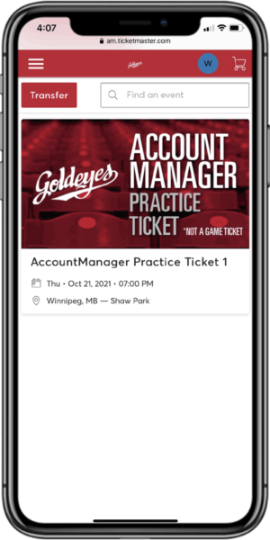 Access Your Tickets - Step 2