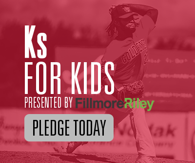 Pledge Today - K's for Kids - presented by Fillmore Riley