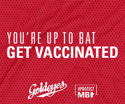 You're Up to Bat. Get Vaccinated