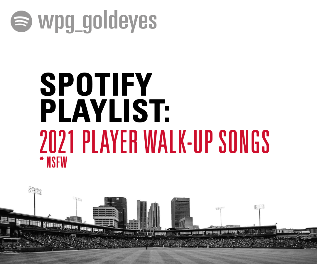 Spotify Playlists: 2021 Player Walk-Up Songs - NSFW